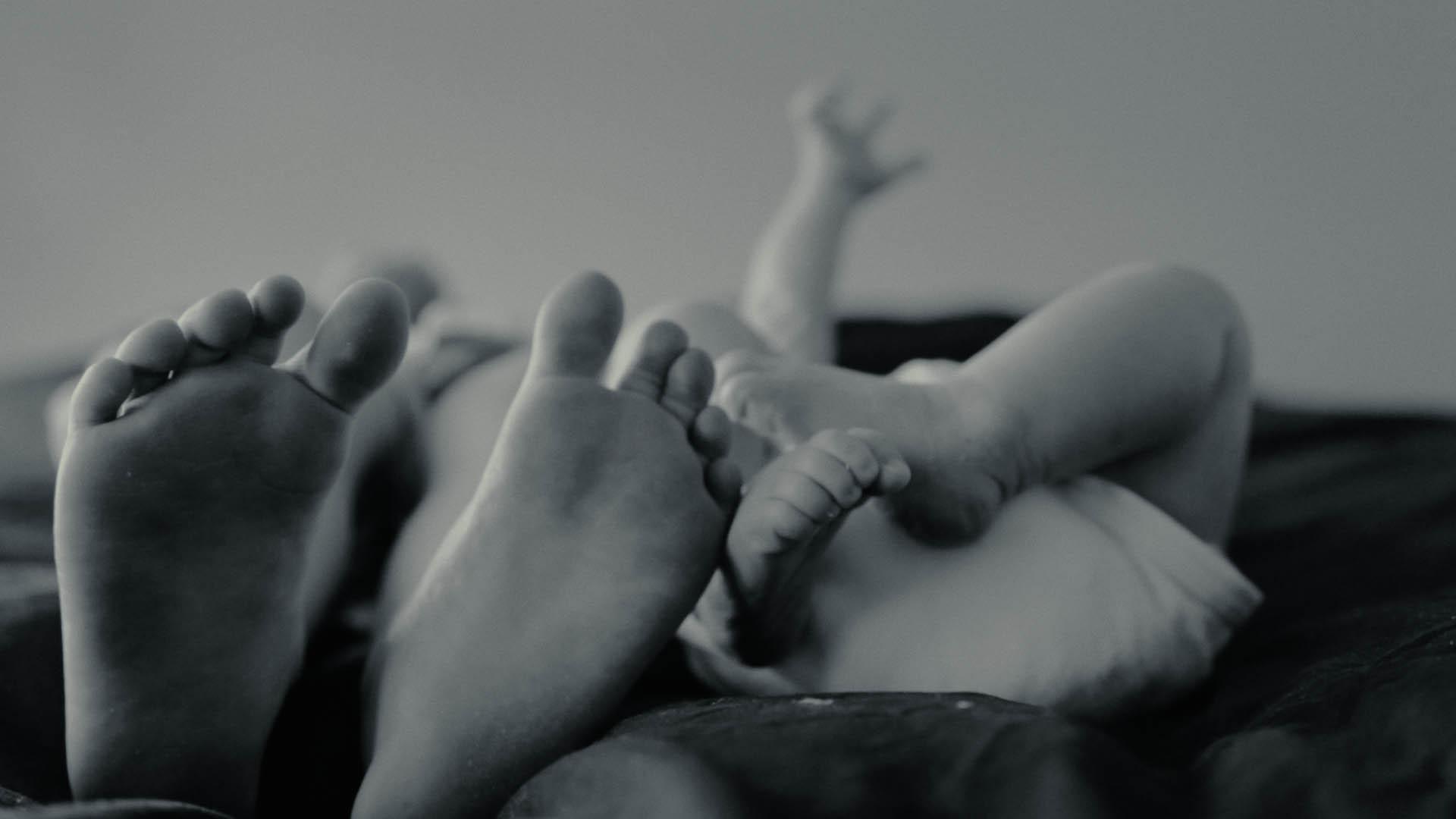 Newborn-video Fenne
